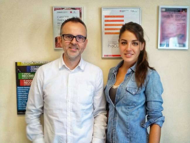 David G. Molleví y Natalia Guillén Díaz-Maroto