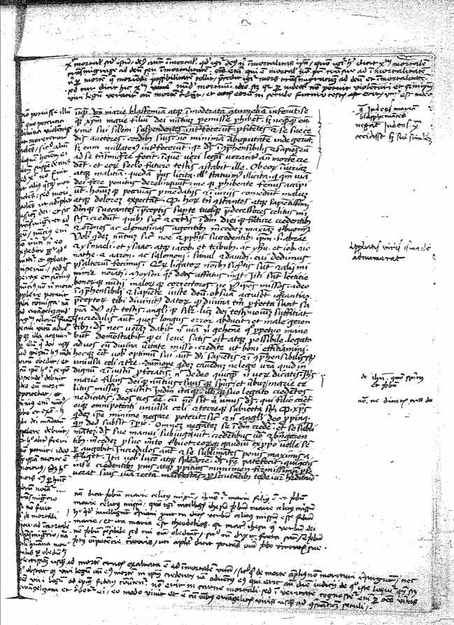 Manuscrito Nicolás de Cusa