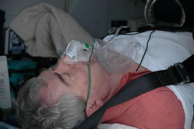 Paciente tras un infarto. Imagen: capn madd matt