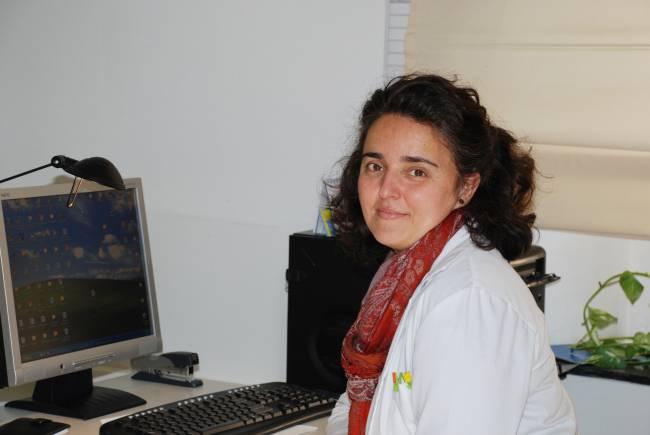 La investigadora de la Universidad Pablo de Olavide Pilar Ortiz, coordinadora del proyecto