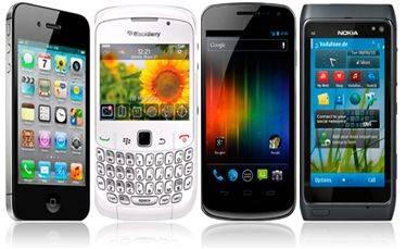 Imagen de teléfonos móviles