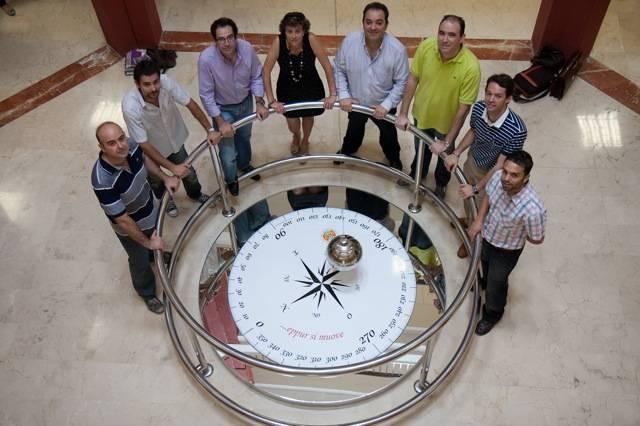 Investigadores del proyecto GeOasis