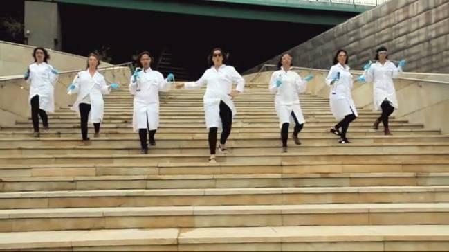Fotograma del vídeo enviado por Saioa Álvarez.
