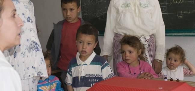 Niños Marruecos