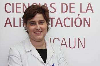 Susana Santiago, profesora del Grado en Nutrición Humana y Dietética de la Universidad de Navarra