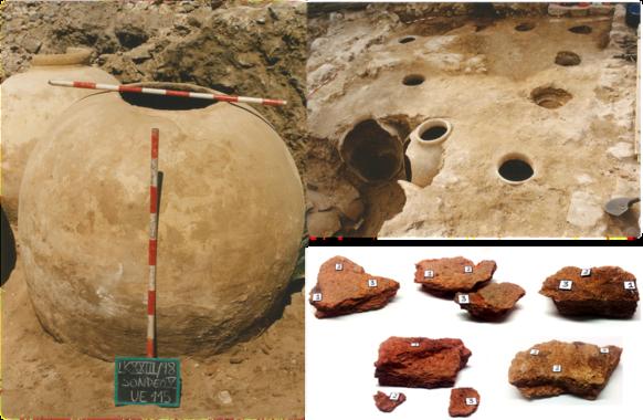 Muestras arqueológicas