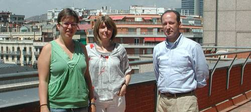 Anna Fernández, Dra. Anna Colell y Dr. José C. Fernández-Checa