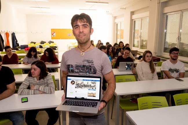 Diego Téllez Alarcia, profesor de la Universidad de La Rioja