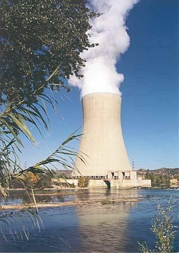 Central Nuclear de Ascó. Foto: Greenpeace.