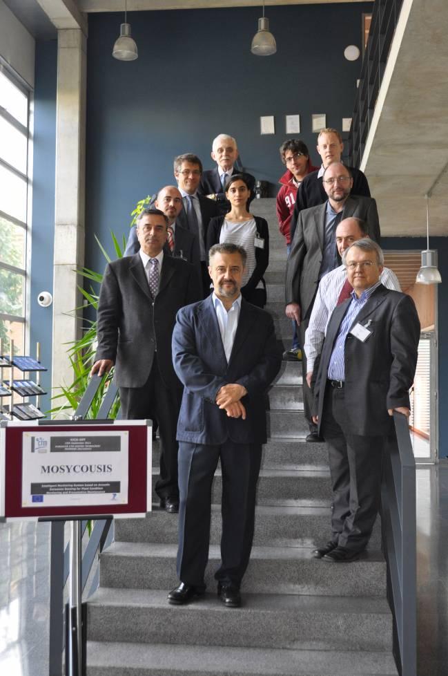 Representantes del proyecto MOSYCOUSIS