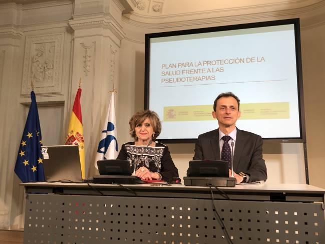 El Gobierno presenta el Plan de Protección de la Salud frente a las Pseudoterapias