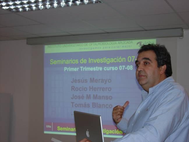 Jesús Merayo, coordinador de la Unidad Clínica de Cirugía Retroactiva e investigador del IOBA.