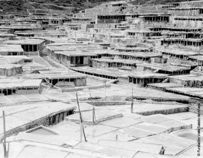 Balsas de evaporación del Valle Salado de Añana.
