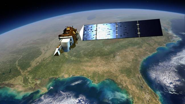 Un satélite Landsat