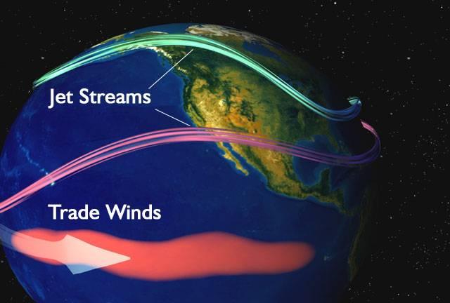 La imagen muestra lo que ocurre cuando El Niño golpea las aguas superficiales en el Océano Pacífico ecuatorial central. / NASA