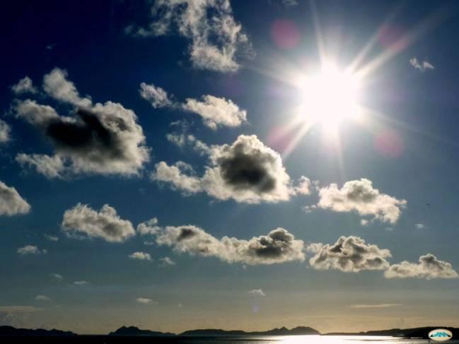 Cielo de la Ría de Vigo. / Juantiages