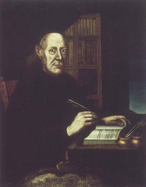 Retrato póstumo del Padre Feijoo, realizado entre 1774 y 1777