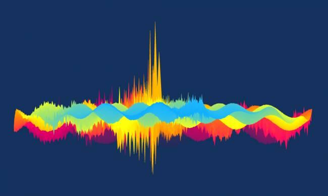 Dibujo de ondas de sonido