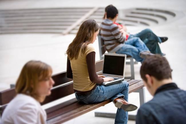 A4Learning sirve de guía para los alumnos que estudian online / UNIR.