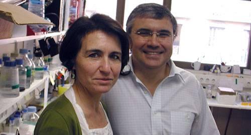 Los doctores Gloria Soldevila y Francisco Lozano