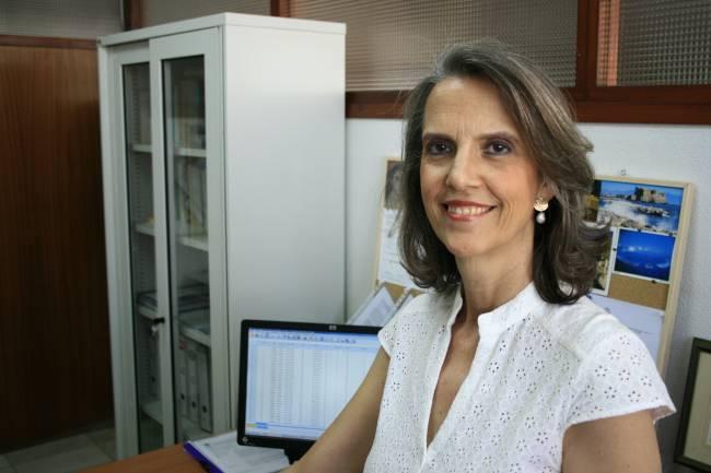La investigadora de la US Adoración Nieto