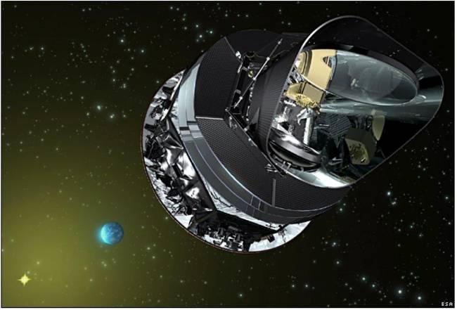 Planck. Fuente: ESA