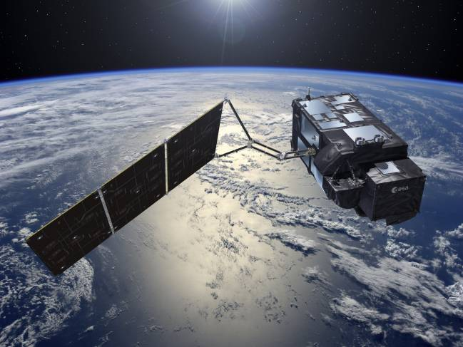 El satélite Sentinel-3A está equipado con cuatro instrumentos de observación de la Tierra que dotarán al programa de visión panorámica.