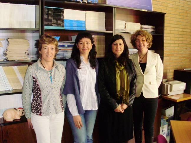 Grupo de psicólogas de la Universidad de Almería