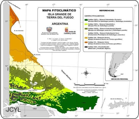 El trabajo en la región argentina se enmarca en el asesoramiento por parte de la Administración autonómica al Plan Forestal Regional Patagónico