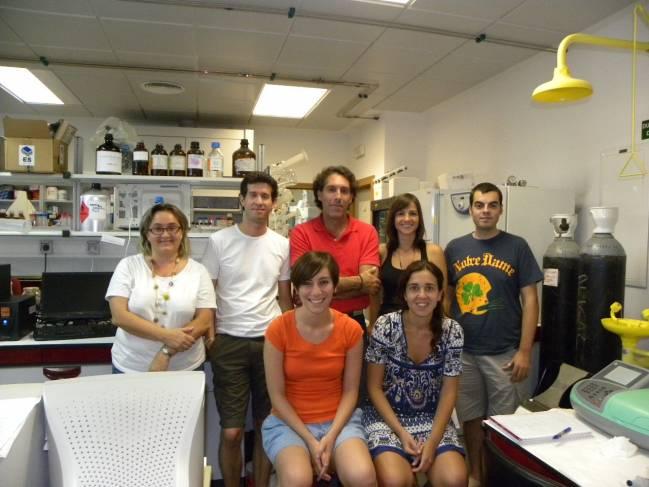Grupo de investigación de la Universidad de Huelva.