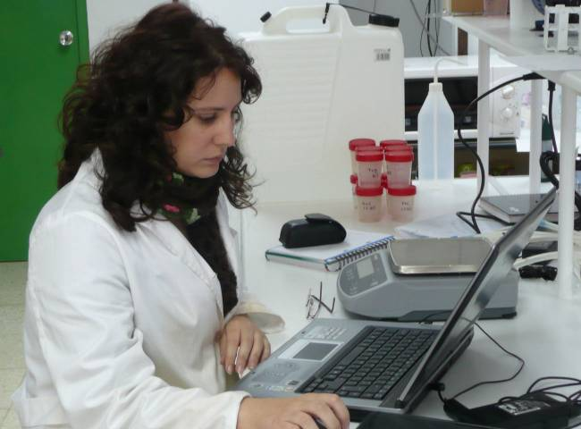 La investigadora Mercedes Uceda de la Maza