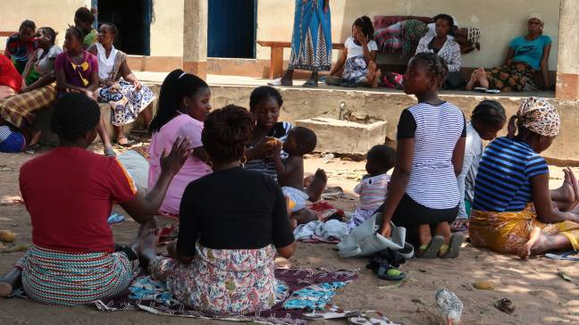 comunidad en Mozambique