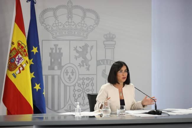 Carolina Darias ministra de sanidad española