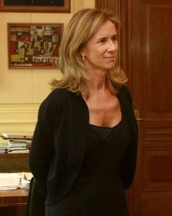 La ministra de Ciencia e Innovación, Cristina Garmendia. Foto: SINC.