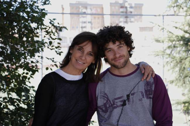 Los investigadores de la Universidad de Granada Belén Rueda y Carlos López, autores de este trabajo (FOTO: JAIME LINARES)