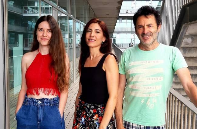 tres investigadores españoles que han participado en el estudio