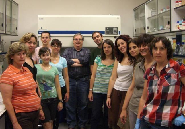 Grupo de investigación de la Universidad de Almería