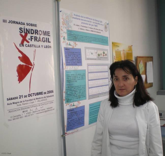 La investigadora del IBGM Isabel Fernández Carvajal.
