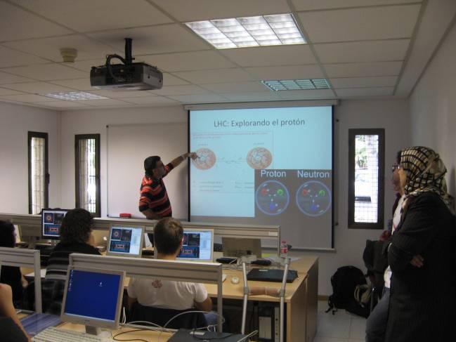 Masterclass en el Instituto de Física Corpuscular (IFIC) de Valencia