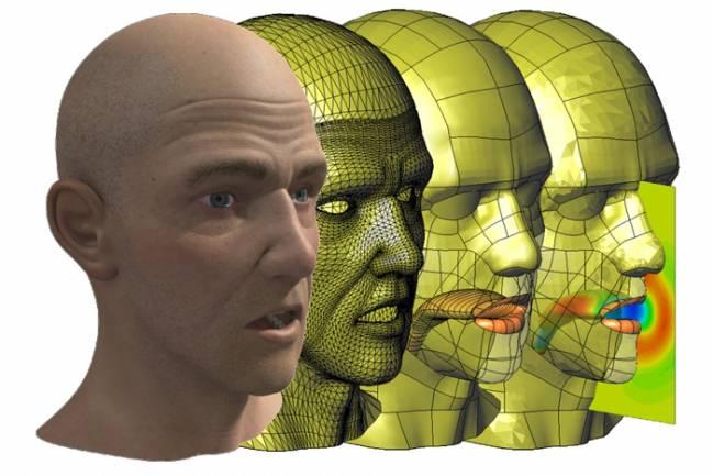 Imagen de una simulación de voz del proyecto EUNISON