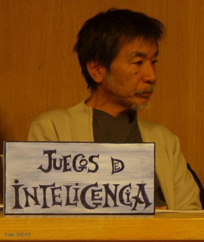 Maki Kaji, inventor del 'Sudoku', elige Salamanca como primer sitio donde presentar su nuevo proyecto de estimulación de la inteligencia, el 'Nurikabe'.