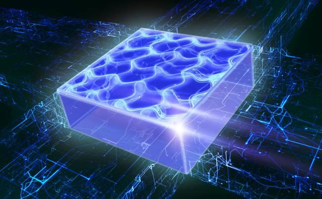 Gas cuántico supersólido bidimensional