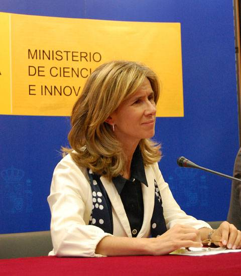 La ministra Cristina Garmendia. Foto: SINC.