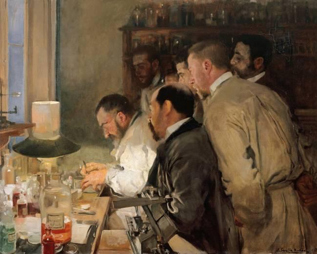 Una investigación, del pintor Joaquín Sorolla (Museo Sorolla).