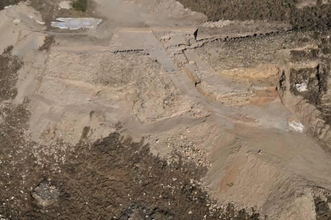 Vista aérea de Puente Tablas