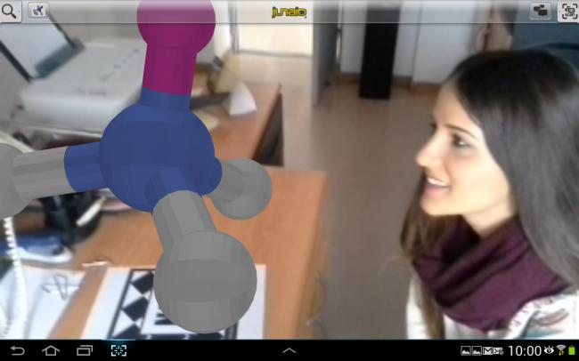 Estas realidades mixtas son accesibles mediante webcam y/o mediante apps para dispositivos móviles