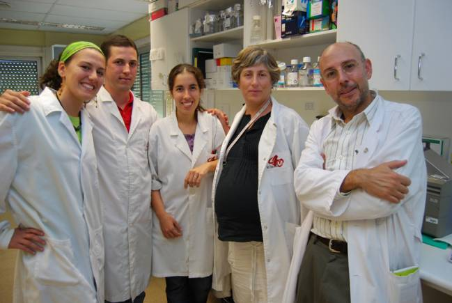 Equipo de Nuevas Terapias de Genes y Trasplantes del IDIBELL