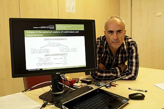 Asier Garmendia, investigador del GIC (Grupo de Inteligencia Computacional) de la UPV/EHU.