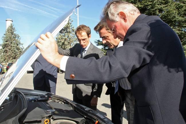 Coche VW para Grupo Hidrógeno UPNA