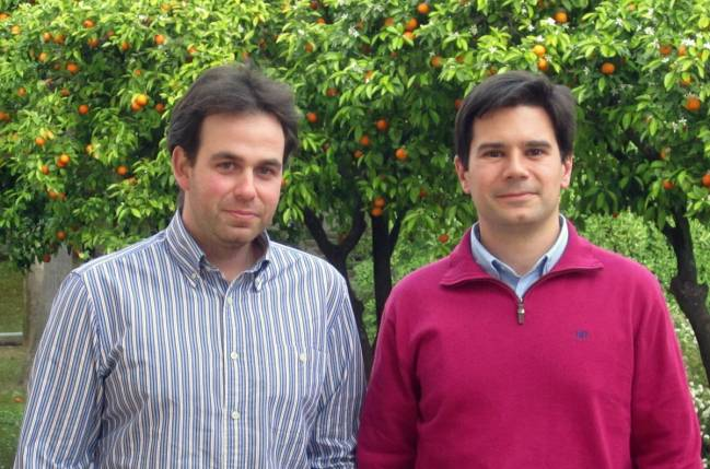 Francisco Martínez  y Antonio Morales